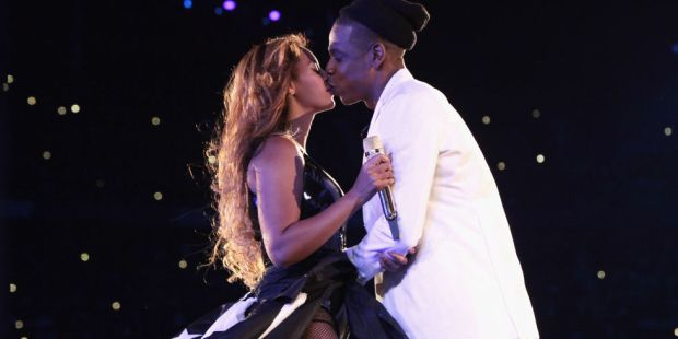 Jay Z and Beyonce public display of affection PDA