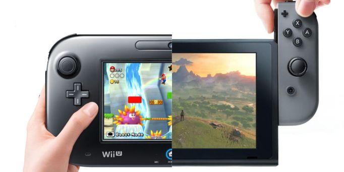 Resultat d'imatges de wii u vs nintendo switch