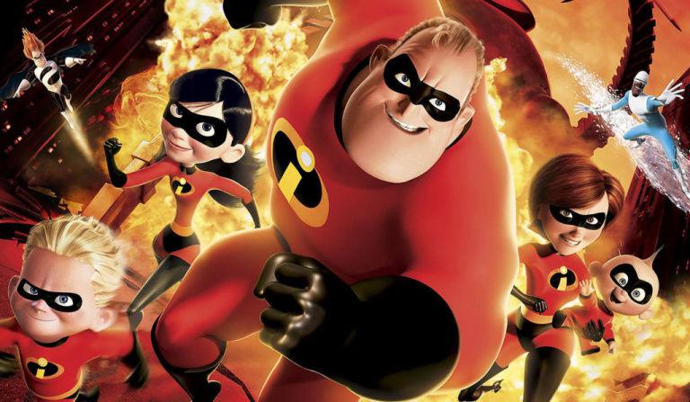 From the Disney and Pixar film, starring Mr. Incredible, Elastigirl, Frozone, Violet, Dash and Jack-Jack.