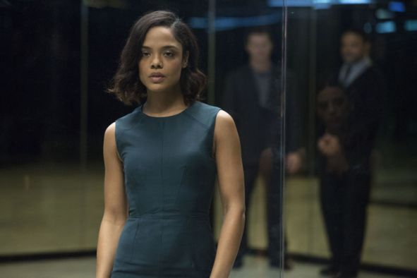Tessa Thompson as Charlotte Hale in 'Westworld' s01e07