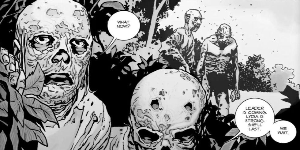 Resultado de imagem para The Walking Dead Whisperers