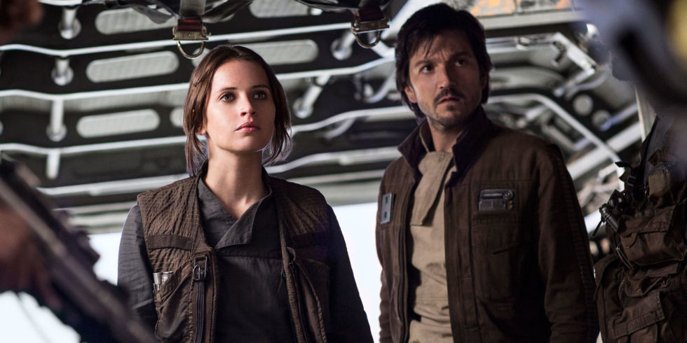 Image result for rogue one jyn and cassian