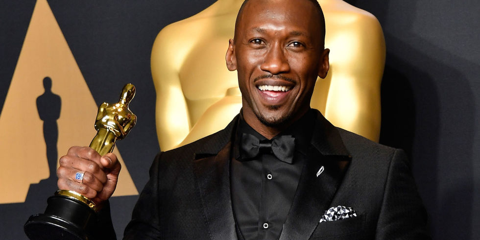 Image result for mahershala ali oscars 2017