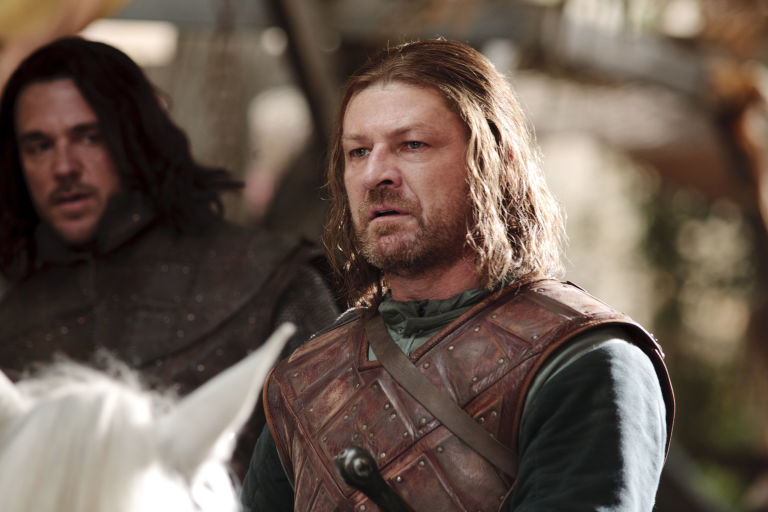 Ned Stark in 'Game of Thrones'