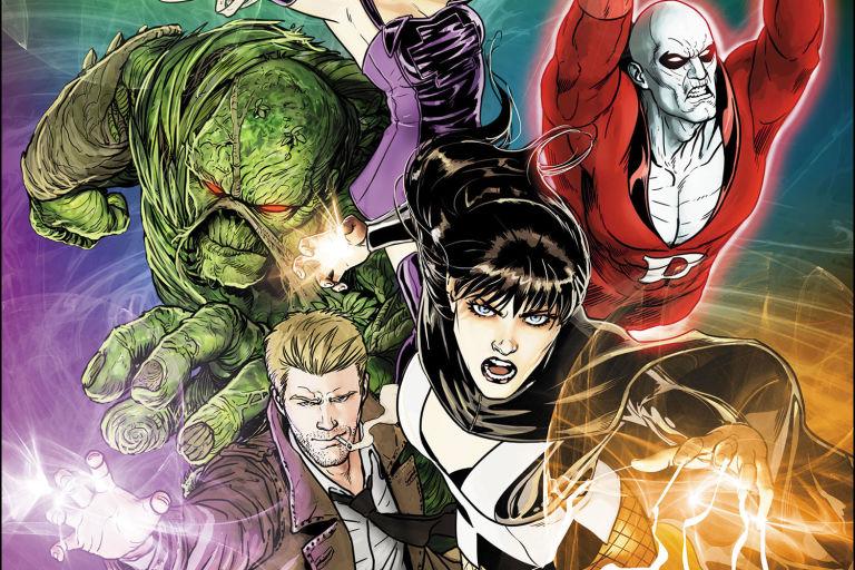 Justice League Dark John Constantine Zatanna Deadman Swamp Thing