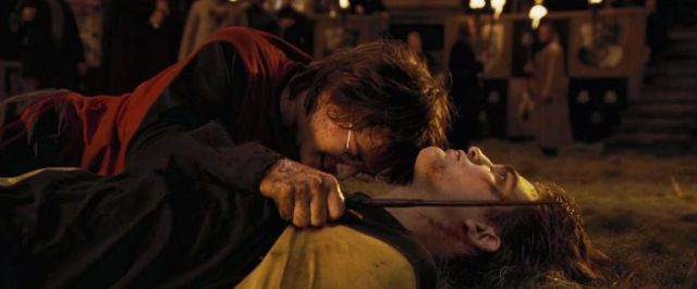 Harry Potter and Cedric Diggory