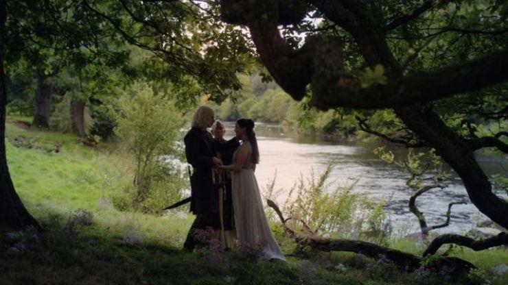 Rhaegar e Lyanna em Game of Thrones