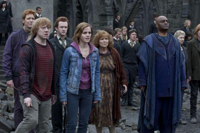 The Battle of Hogwarts in Harry Potter