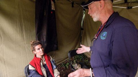 'I'm a Celebrity... Get Me Out of Here: Rebekah Vardy and Medic Bob 11/29
