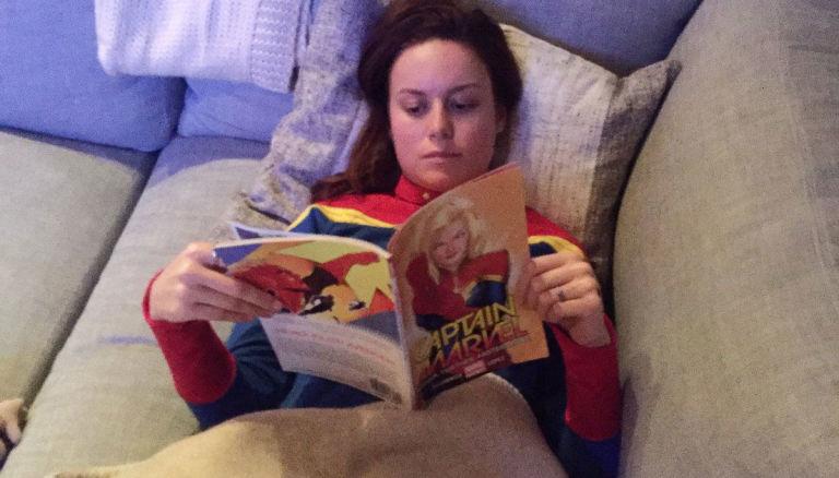 Captain Marvel/Carol Danvers – Brie Larson