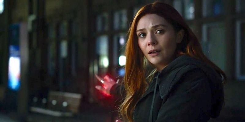 Scarlett Witch in Avengers: Infinity War