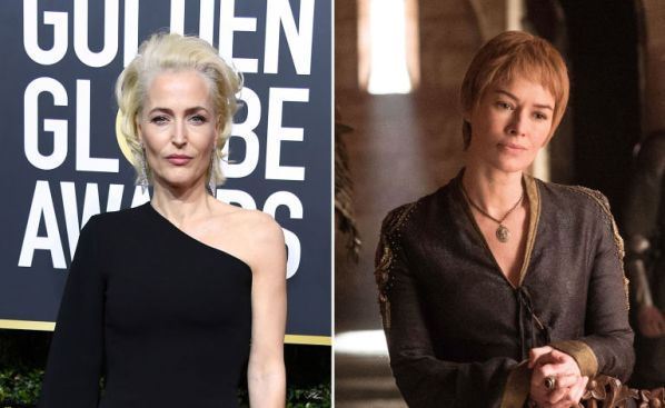 Gillian Anderson, Cersei Lannister, Game of Thrones, Actors turned down roles