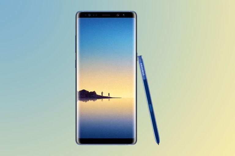 Samsung Galaxy Note 8 promo