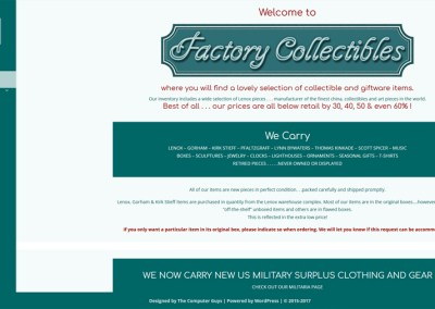 Factory Collectibles
