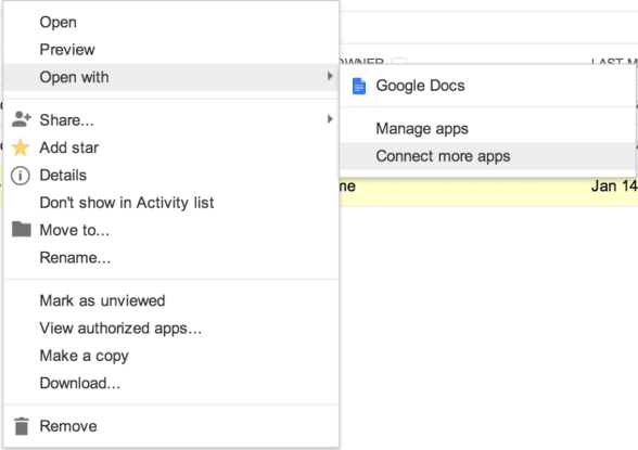 Connect More Apps from Gmail screenshot