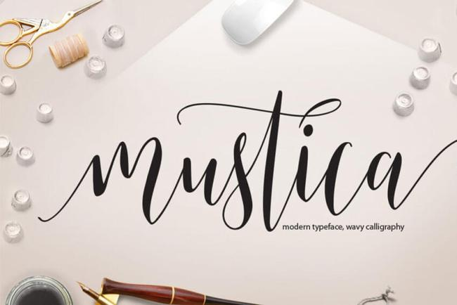 Mustica-Font-Modern-Typeface-Calligraphy