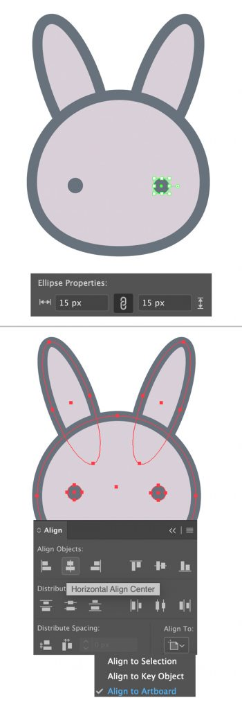 Langkah 4-easter-bunny-egg