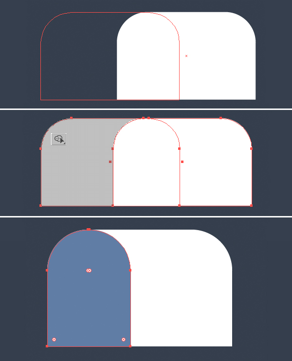 Tutorial Icon Flat Design Kotak Surat di Adobe Illustrator 03