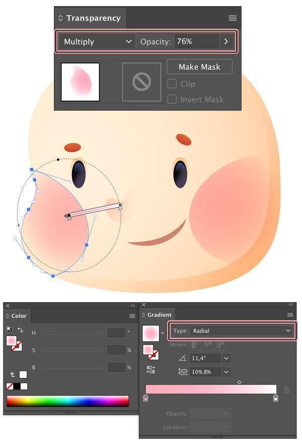 Tutorial Membuat Ikon Anak Kecil di Adobe Illustrator CC 10