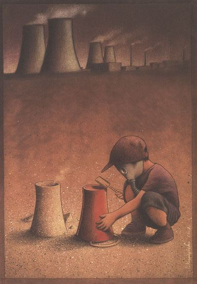 Thought Provoking Paintings By Pawel Kuczynski 13