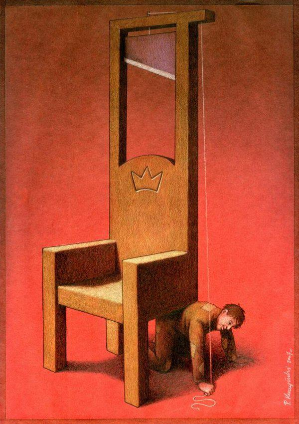 Thought Provoking Paintings By Pawel Kuczynski 15