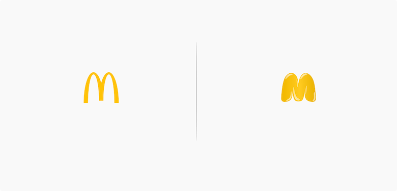 Famous logos affected by their products - McDonald's