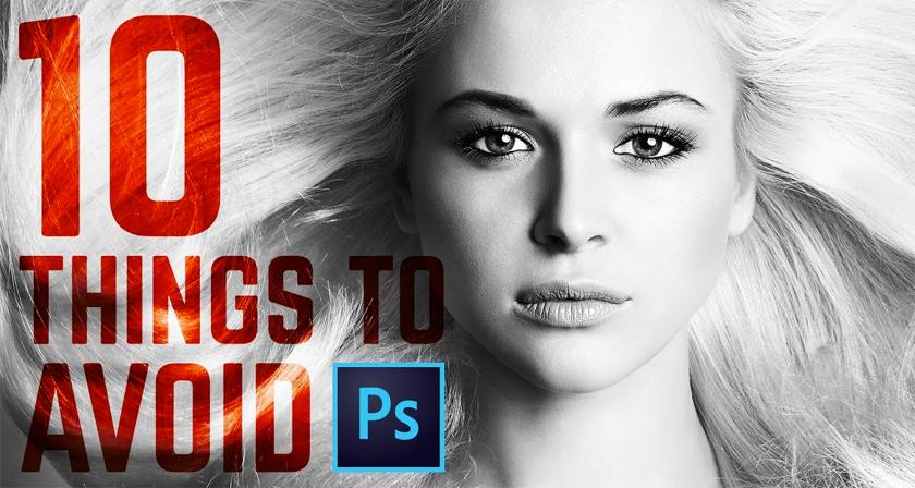 10 Common Photoshop Mistakes That Novice Designers Make