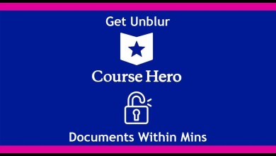 How to unblur course hero