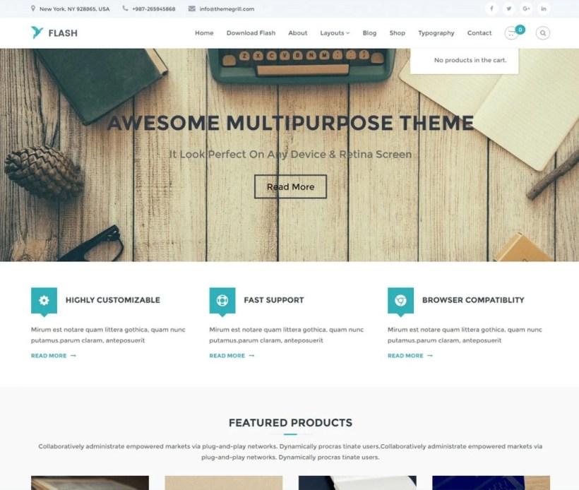 Flash-theme-gratuit-polyvalent-WordPress-responsive