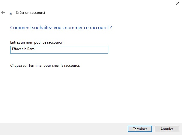 raccourci-description-vider-mémoire-cache-windows-10