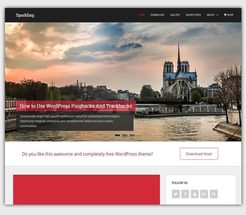 sparkling-theme-gratuit-WordPress-responsive