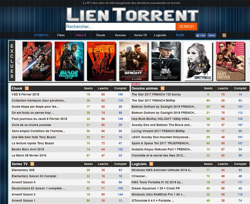lien-torrent-Torrent Français