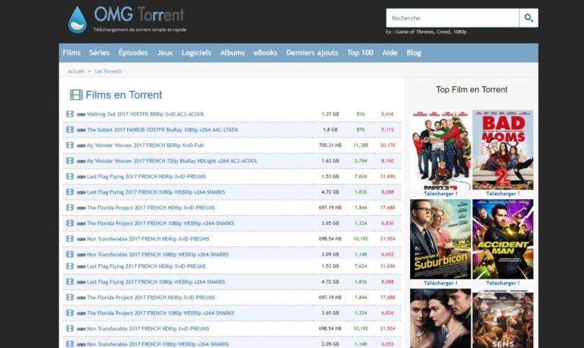 omgtorrent-Torrent Français