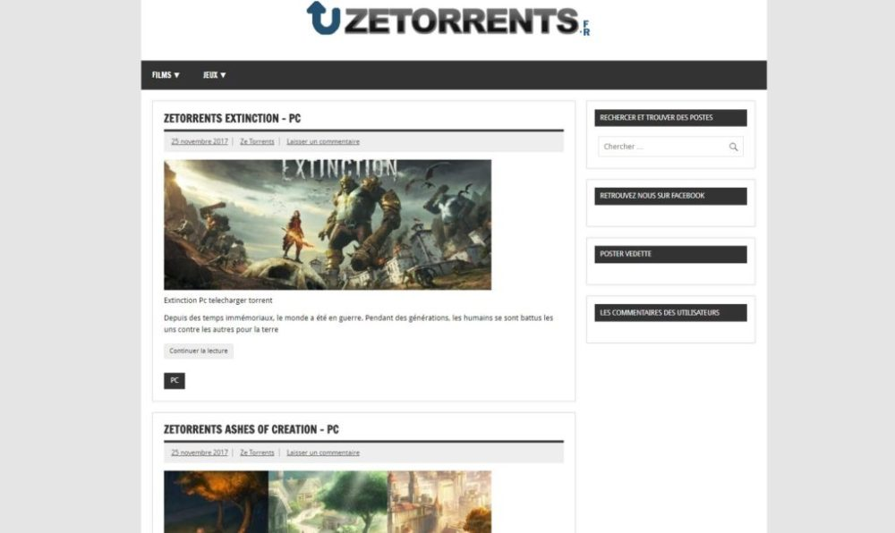 zetorrents-Torrent Français