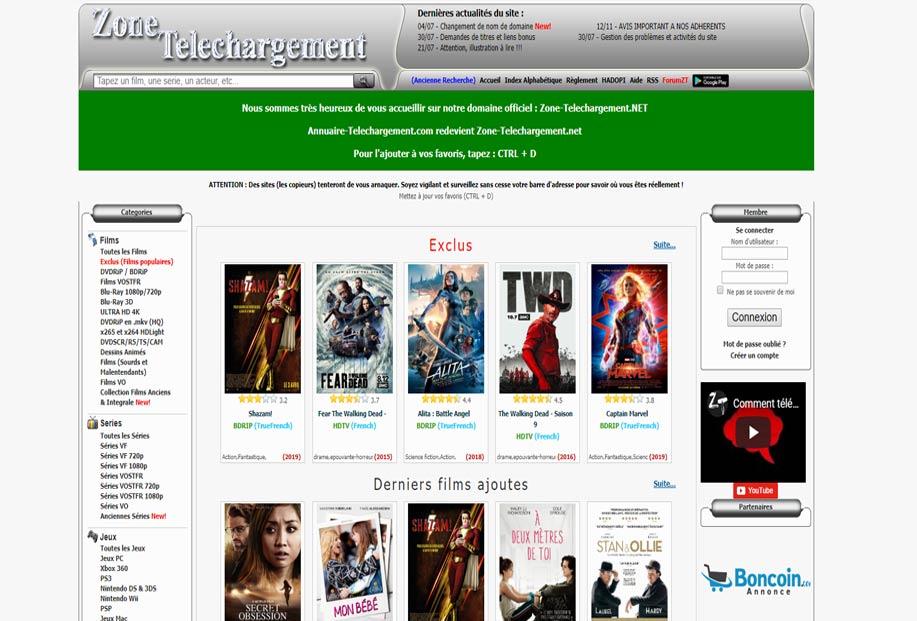 zone-telechargement-torrent-francais