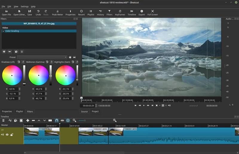 editeur video shotcut