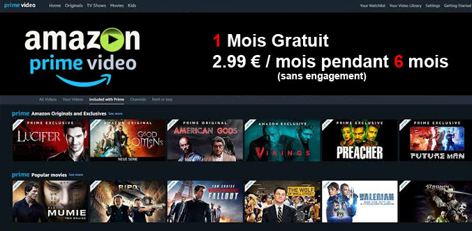 amazon prime video streaming