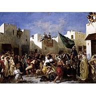Eugene Delacroix Convulsionists of Tangier