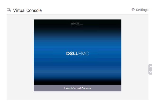 Machine generated alternative text: Virtual Console  Settings