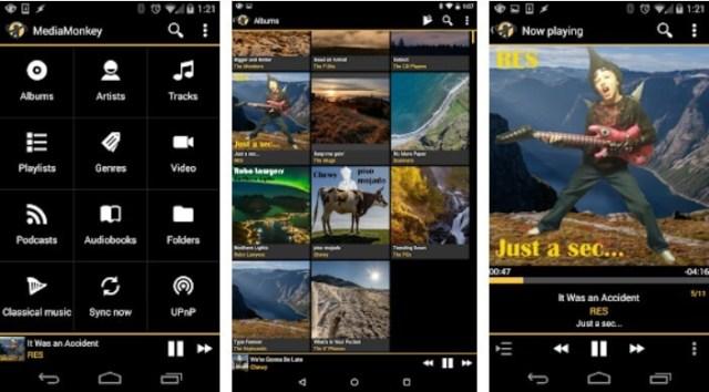 Aplikasi music player Terbaik untuk Android