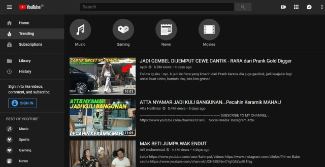 Algoritma Baru Youtube