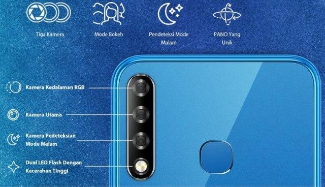 Infinix Smart 3 Plus kamera