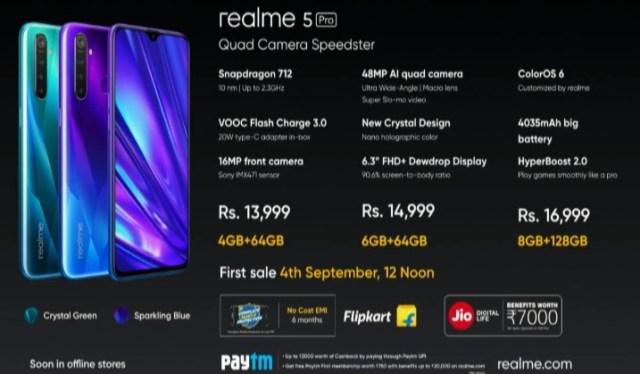 Harga Realme 5 Pro