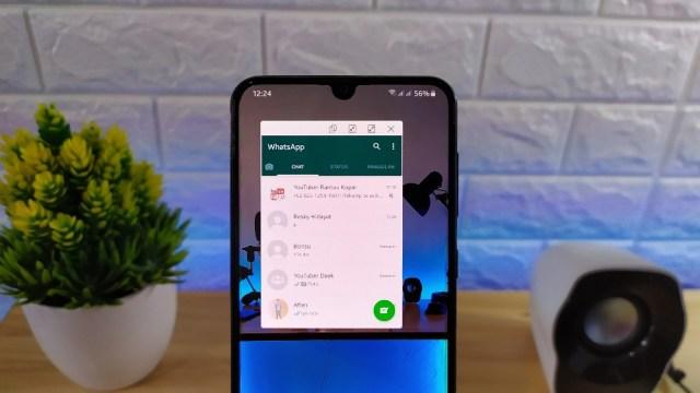 Cara Mengaktifkan Notifikasi Pop-up di Samsung Galaxy A Series 2019