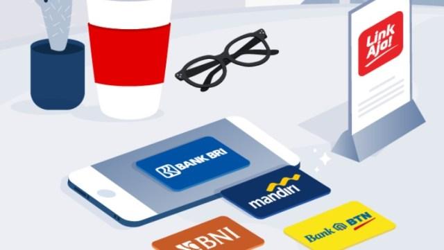 Cara Tarik Tunai Saldo LinkAja di ATM Mandiri, BRI, BNI dan BTN