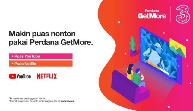 Paket Tri Murah untuk Nonton di Netflix