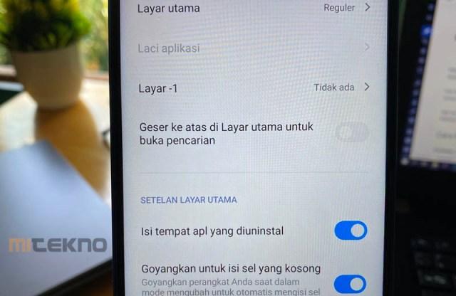Cara Menonaktifkan Swipe Up Layar di Xiaomi