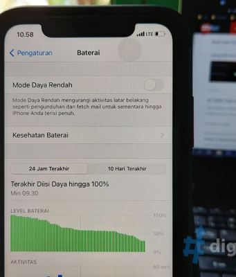 Cara Ampuh Menghemat Baterai di iPhone