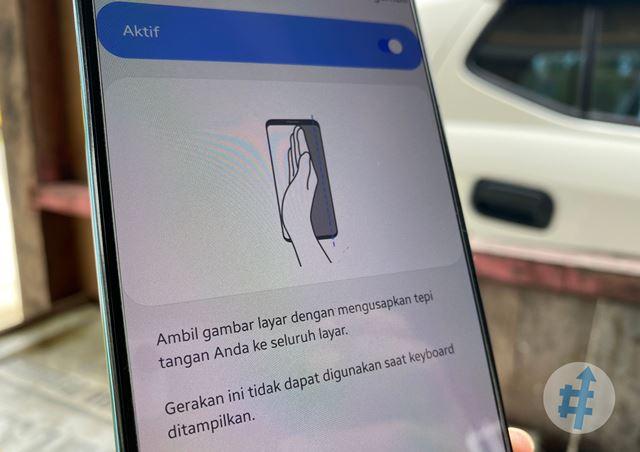 Cara screenshot usap telapak tangan samsung a12