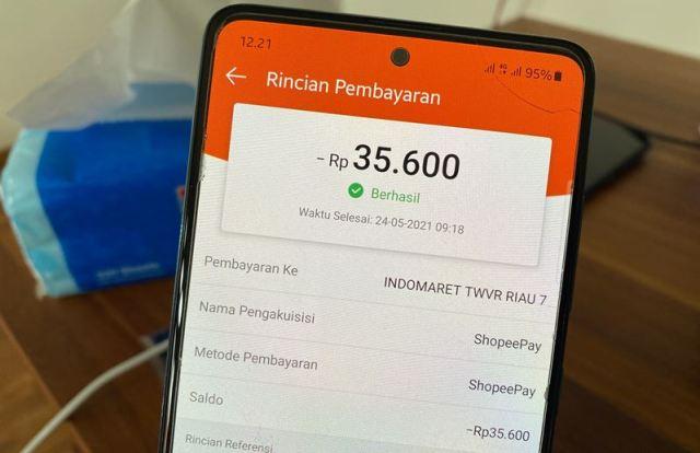 Cara Belanja di Indomaret Bayar Pakai ShopeePay